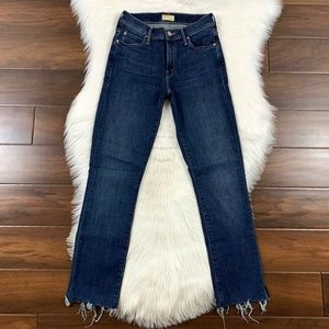 Mother Rascal Ankle Snippet Denim Jeans
